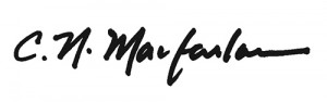 Signature of Sandy Macfarlane