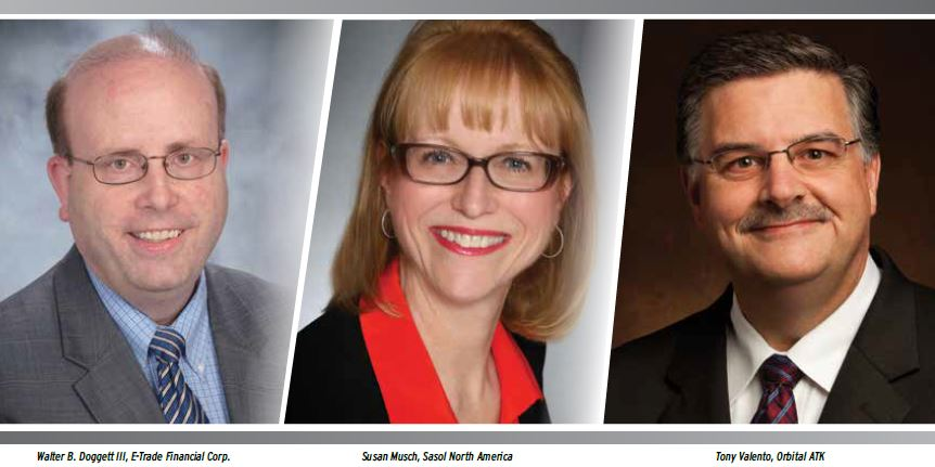 Image of Walter Doggett, Susan Musch, and Tony Valento