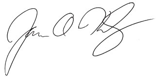 James Kennedy signature